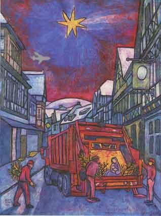 Beate Heinen Weihnachtsbilder.The Art Of Beate Heinen Jesus Scribbles